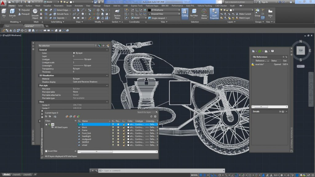 how to restore classic workspace in autocad 2017