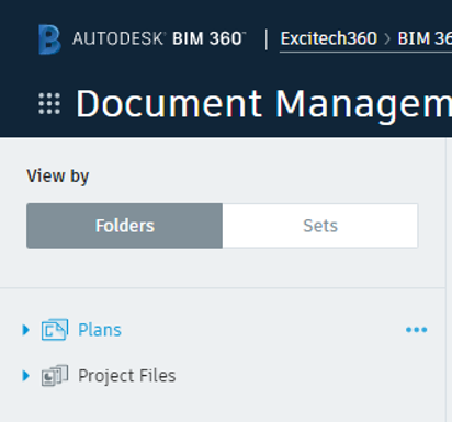 BIM 360 Default Sections