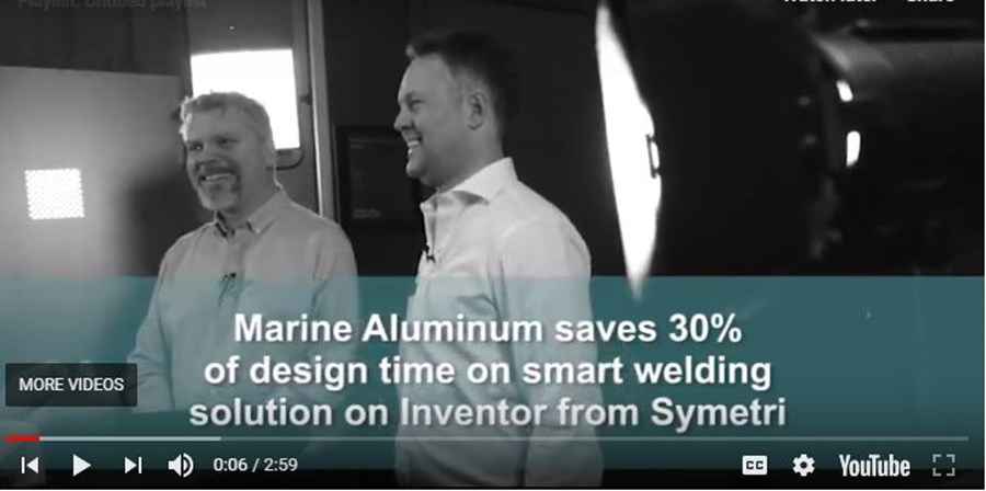 Play Marine Aluminium - 2D 3D video.